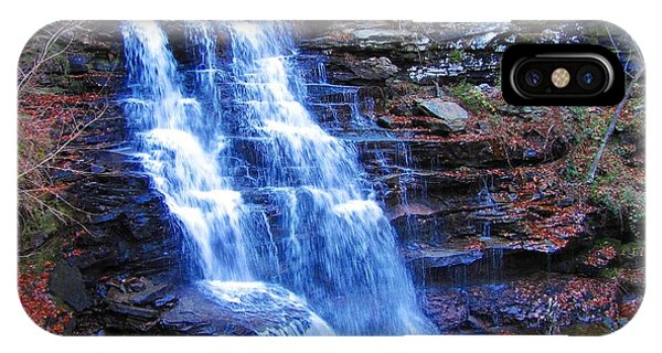 Ricketts Glen Waterfall 3941  IPhone Case