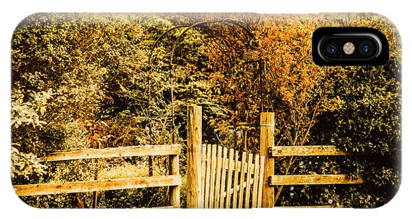 Fence iPhone Case - Rickety Countryside by Jorgo Photography - Wall Art Gallery