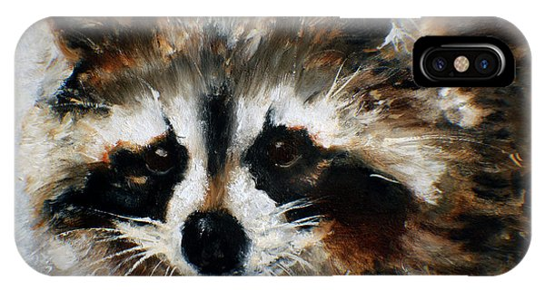 Rickey Raccoon IPhone Case