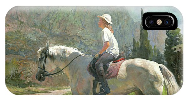 iPhone Case - Riding by Denis Chernov