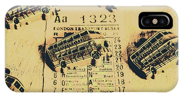 Fare iPhone Case - Ride Down Memory Lane by Jorgo Photography - Wall Art Gallery