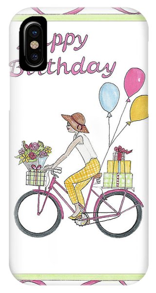 Ride In Style - Happy Birthday IPhone Case