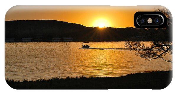 Ride Into The Sunset Phone Case by Teresa Blanton