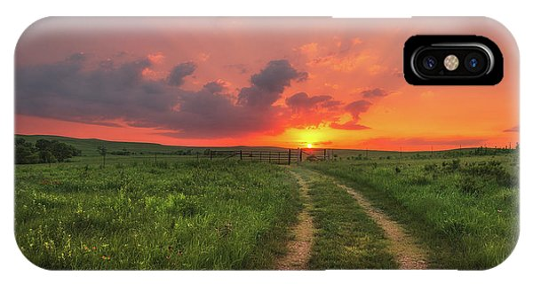 IPhone Case featuring the photograph Ride Off Into The Sunset by Darren White