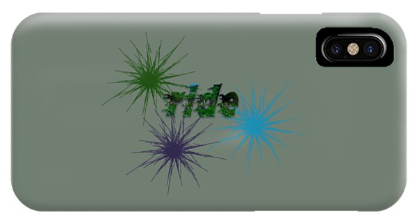 Ride Text And Art IPhone Case