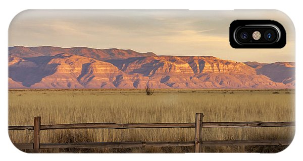 Ridge Outside Alamogordo IPhone Case