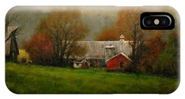 iPhone Case - Ridgefield Farm by Jim Gola