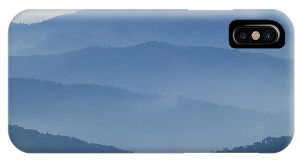 Ridgelines Great Smoky Mountains IPhone Case