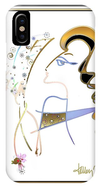 Ridicule - Madame De Blayac IPhone Case