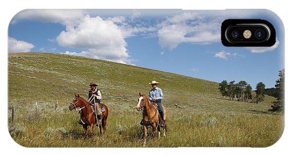 Riding Fences IPhone Case
