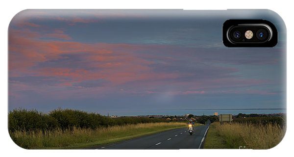 Riding Into The Sunset IPhone Case