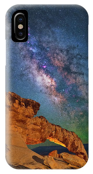 Riding Over The Arch IPhone Case