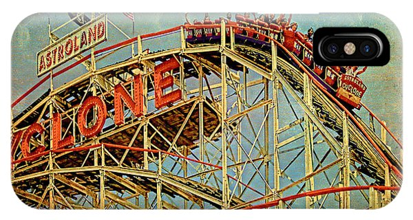 IPhone Case featuring the photograph Riding The Cyclone by Chris Lord