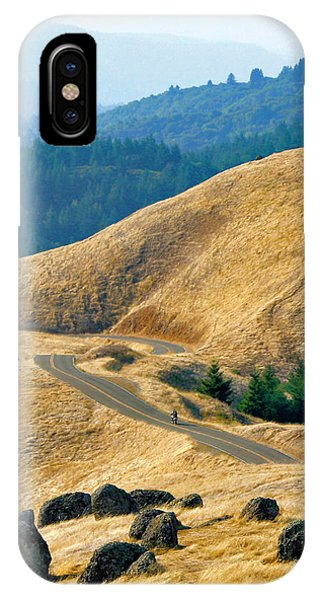 Riding The Mountain IPhone Case