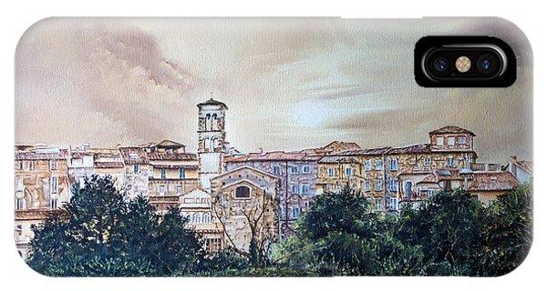 Rieti Panoramic IPhone Case