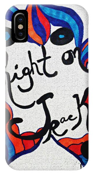 Right On Track IPhone Case
