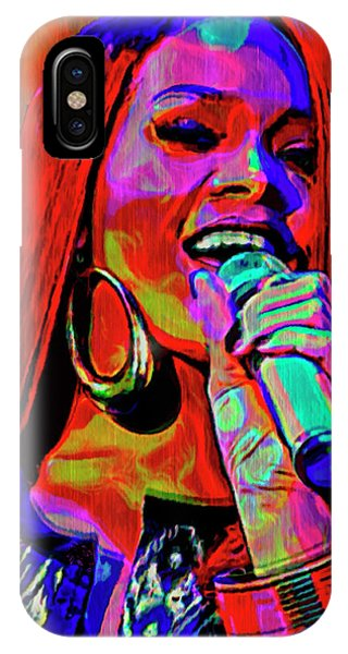 Rihanna iPhone Case - Rihanna  by  Fli Art