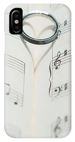 Ring Heart Shadow II IPhone Case