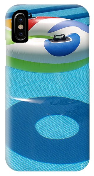 Ring In A Swimming Pool IPhone Case