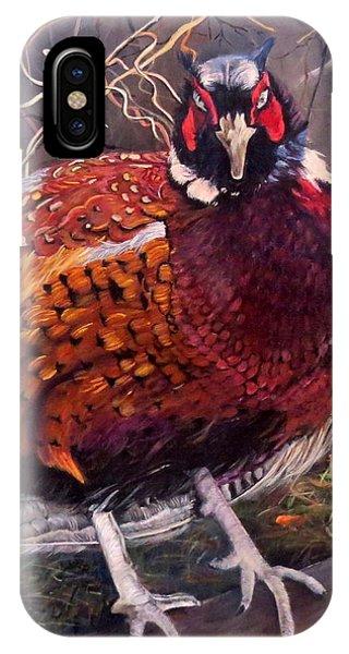 Ring Neck Pheasant IPhone Case
