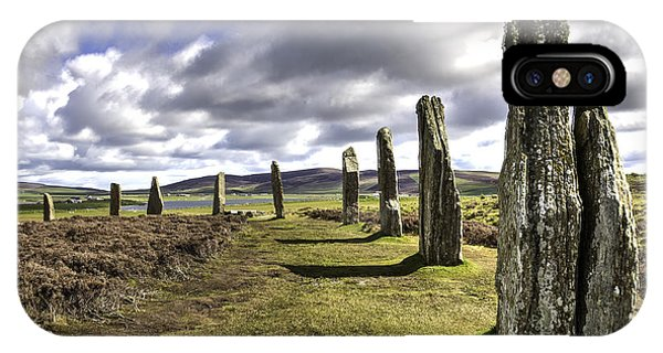 Ring Of Brodgar IPhone Case