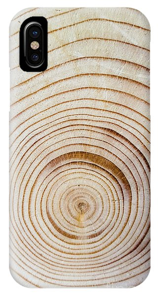 Rings Of A Tree IPhone Case