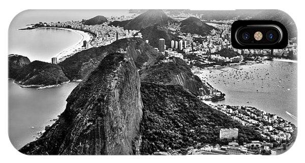 Rio De Janeiro - Sugar Loaf, Corcovado And Baia De Guanabara IPhone Case