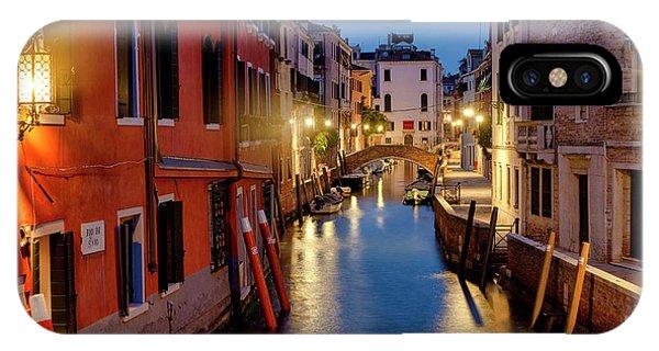 IPhone Case featuring the photograph Rio Di San Vio by Fabrizio Troiani