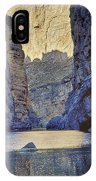 Rio Grand, Santa Elena Canyon Texas 2 IPhone Case