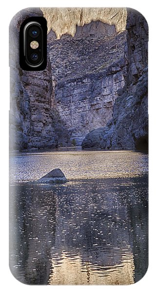 Rio Grand, Santa Elena Canyon Texas IPhone Case