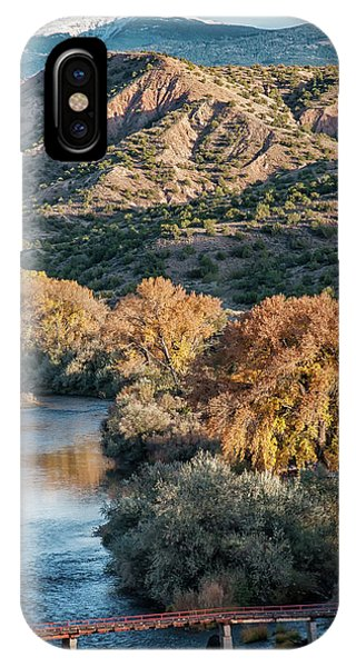 Rio Grande Embudo Vista IPhone Case