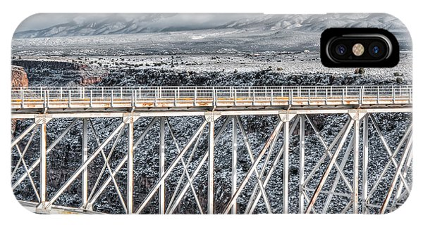 Rio Grande Gorge Bridge #001 IPhone Case