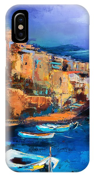 See iPhone Case - Riomaggiore - Cinque Terre by Elise Palmigiani