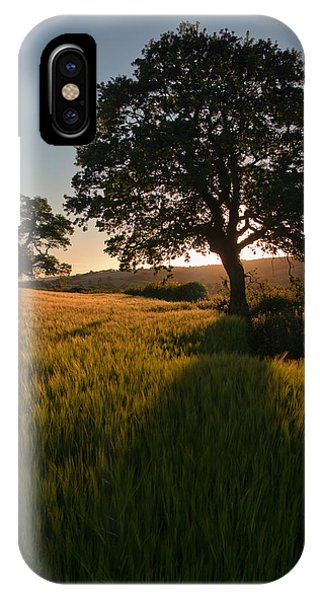 Ripe Harvest At The End Of The Day IPhone Case