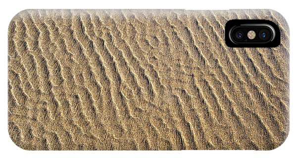 Tidal iPhone Case - Ripples In The Sand by Tim Gainey