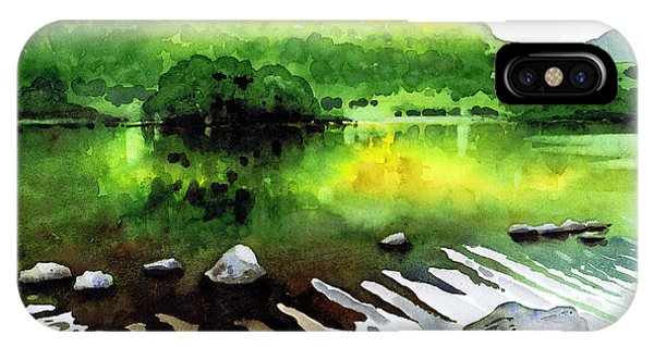 iPhone Case - Ripples On Rydal Water by Paul Dene Marlor