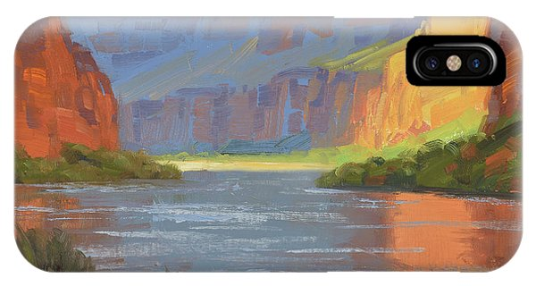 Canyon iPhone Case - Rise And Shine by Cody DeLong