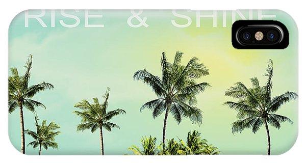Morning iPhone Case - Rise And  Shine by Mark Ashkenazi