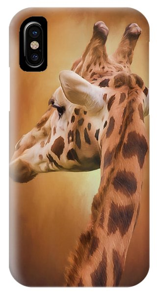 Rising Above - Giraffe Art IPhone Case