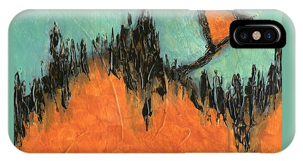 Rising Hope Abstract Art IPhone Case
