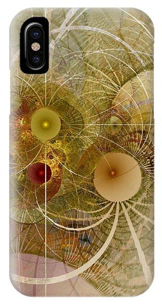 Rising Spring - Fractal Art IPhone Case