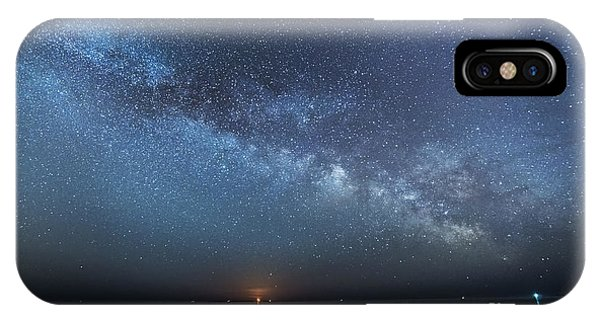 Rising Tide Rising Moon Rising Milky Way IPhone Case