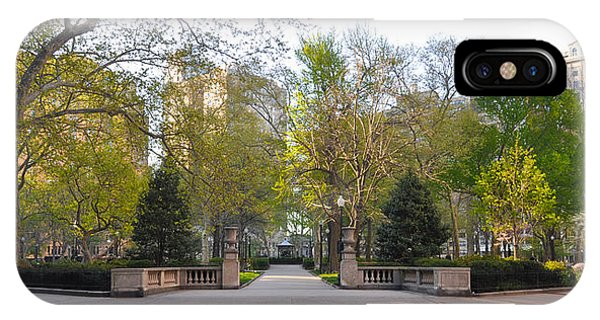Rittenhouse Square In The Morning IPhone Case