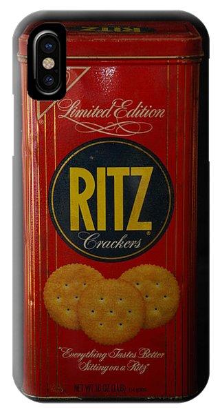 Ritz Crackers IPhone Case