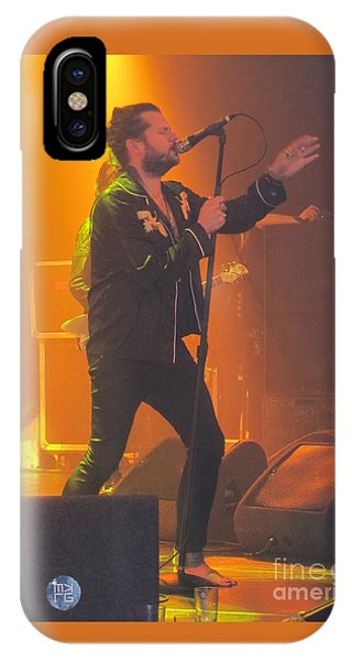 Rival Sons Jay Buchanan IPhone Case