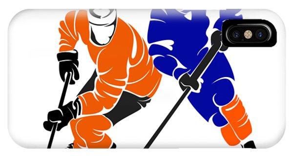 Islanders iPhone Case - Rivalry Flyers Islanders Shirt by Joe Hamilton