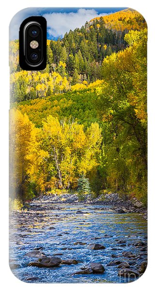 River And Aspens IPhone Case