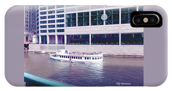 River Boat Tour IPhone Case