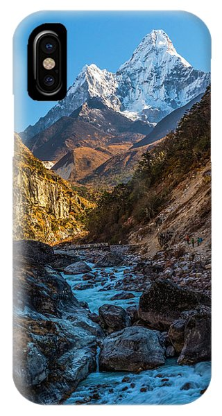IPhone Case featuring the photograph River Crossing  by Owen Weber