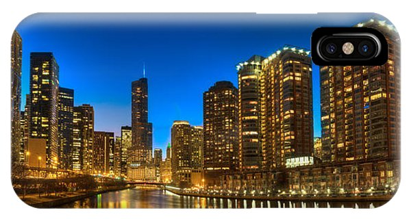 Chicago River iPhone Case - River East Chicago by Steve Gadomski